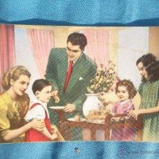 Postales: ANTIGUA POSTAL FAMILIAR. Lote 47429630