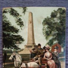 Postales: THE IRIS JAUNTING CAR. BONITA POSTAL CIRCULADA EN 1912. SIN SELLO.. Lote 48473523