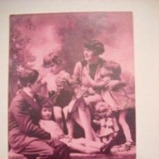 Postales: ANTIGUA POSTAL DE FAMILIA.. Lote 48664150