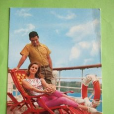 Postales: POSTAL PAREJA - CYZ 6697 - 1966 - ESCRITA. Lote 48831160