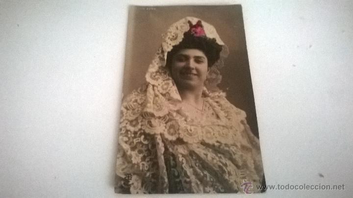 POSTAL COLOREADA, JULIA FONS, AÑOS 10-20 (SIN CIRCULAR) (Postales - Postales Temáticas - Galantes y Mujeres)