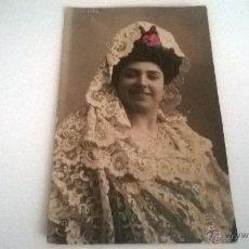 Postales: POSTAL COLOREADA, JULIA FONS, AÑOS 10-20 (SIN CIRCULAR). Lote 49134203