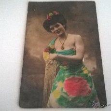 Postales: POSTAL COLOREADA, ARTISTA SIN IDENTIFICAR, AÑOS 10-20 (SIN CIRCULAR). Lote 49134470