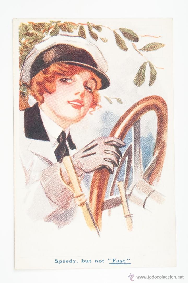 TARJETA POSTAL Nº 3124 SERIES G12 OUR FAIR WAR WORKORS, SIN CIRCULAR (Postales - Postales Temáticas - Galantes y Mujeres)