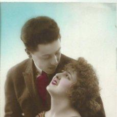 Postales: POSTAL FOTOGRAFICA ANTIGUA DE PAREJA - ESCRITA EL 24 - 6 - 1920. Lote 49570341