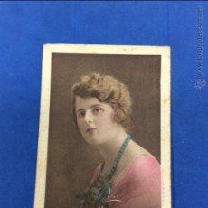 Postales: ANTIGUO RETRATO DE JOVEN BRITÁNICA. POSTAL BROMOGRABADA. EDICIONES E.W. SAVORY.. Lote 49874564