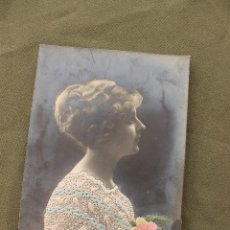 Postales: POSTAL ROMANTICA BORDADA 1912, CIRCULADA. Lote 50493048
