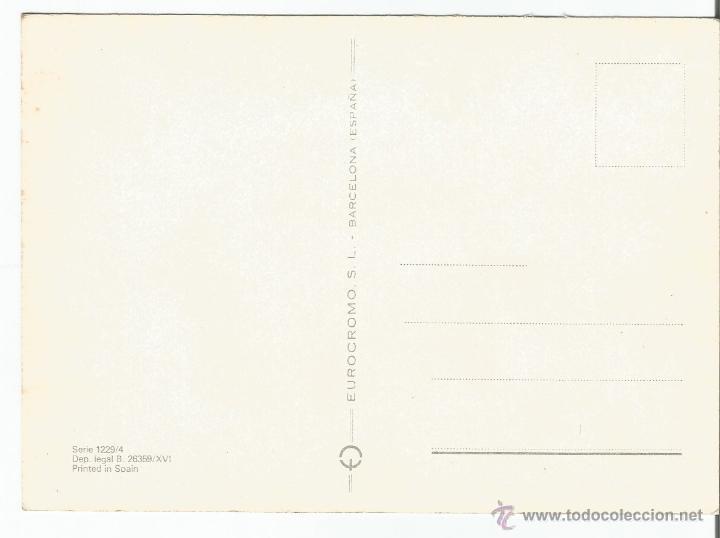 Postales: POSTAL DE UNA MUJER CON TEXTO PIENSO EN TI - SIN CIRCULAR - Foto 2 - 50570805