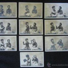 Postales: SERIE DE 10 POSTALES NIÑOS. ORIGINAL DE ÉPOCA. . Lote 51922253