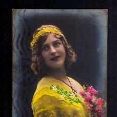 Postales: TARJETA POSTAL. JOVEN. CIRCULADA 1913 . . Lote 52559372