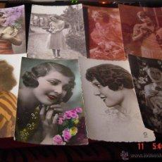 Postales: 8 TARJETAS POSTALES FOTOGRAFIAS DE MUJER. FRANCESAS.. Lote 52627248