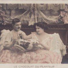 Postales: P- 3205. POSTAL PAREJA. LE CHOCOLAT DU PLANTEUR. G.B.A. 446.. Lote 52672954
