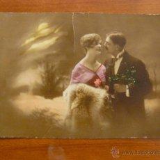 Postales: POSTAL ROMANTICA COLOREADA. CIRCULADA.. Lote 53048110