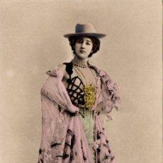Postales: TARJETA POSTAL - ARTISTA - LA BELLA OTERO - REUTLINGER. Lote 53319387