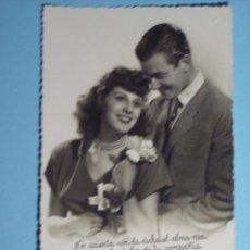 Postales: POSTAL ROMANTICA TROQUELADA . Lote 53573164