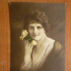Postales: POSTAL ROMANTICA COLOREADA. CIRCULADA 1920. Lote 53650255