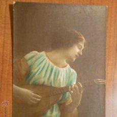 Postales: POSTAL ROMANTICA COLOREADA CIRCULADA 1920.. Lote 53683926