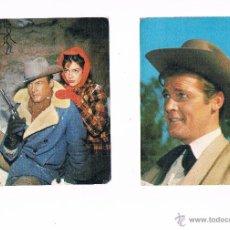 Postales: LOTE 5 POSTALES EL SANTO ROGER MOORE OSCARCOLOR OSCAR COLOR POSTAL. Lote 53789294