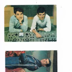 Postales: LOTE DOS POSTALES EL DÚO DINÁMICO POSTAL ANTIGUA UNA OSCAR COLOR OSCARCOLOR OTRA 1979. Lote 53789596