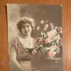 Postales: POSTAL ROMANTICA COLOREADA ED. IRISETTE 1691. CIRCULADA.. Lote 53865777