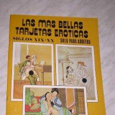 Postales: LAS MÁS BELLAS TARJETAS POSTALES Nº 14. SIGLOS XIX-XX. 24 POSTALES PORNOGRÁFICAS ARTE. ANTALBE, 1988. Lote 53991539