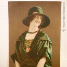 Postales: POSTAL ROMANTICA COLOREADA . CIRCULADA 1920.. Lote 54127683