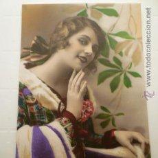 Postales: FOTO POSTAL COLOREADA ED. SOL PARIS 3018. ESCRITA 1928.. Lote 54149711
