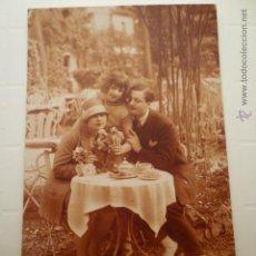 Postales: POSTAL ROMANTICA DE FAMILIA. ED. BLEUEL 935. ESCRITA.. Lote 54163206