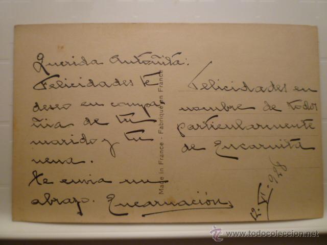Postales: POSTAL ROMANTICA DE FAMILIA. ED. BLEUEL 935. ESCRITA. - Foto 2 - 54163206