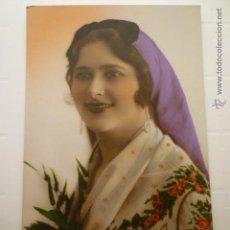 Postales: FOTO POSTAL COLOREADA ED. LEO PARIS 576. ESCRITA 1926.. Lote 54163261