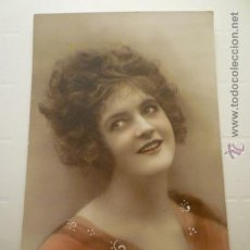 Postales: POSTAL ROMANTICA COLOREADA. ED. PC PARIS 28. ESCRITA 1919. Lote 54185558