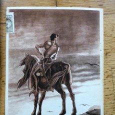 Postales: 4 POSTALES F. ECHAÚZ 1950 LABORATORIOS PROMESA. Lote 54351736