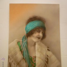 Postales: POSTAL ROMANTICA COLOREADA. CIRCULADA 1920.. Lote 54950042