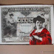 Postales: POSTALE ANTIGUAS BILLETES - 1916-( 4 POSTALES). Lote 55026098