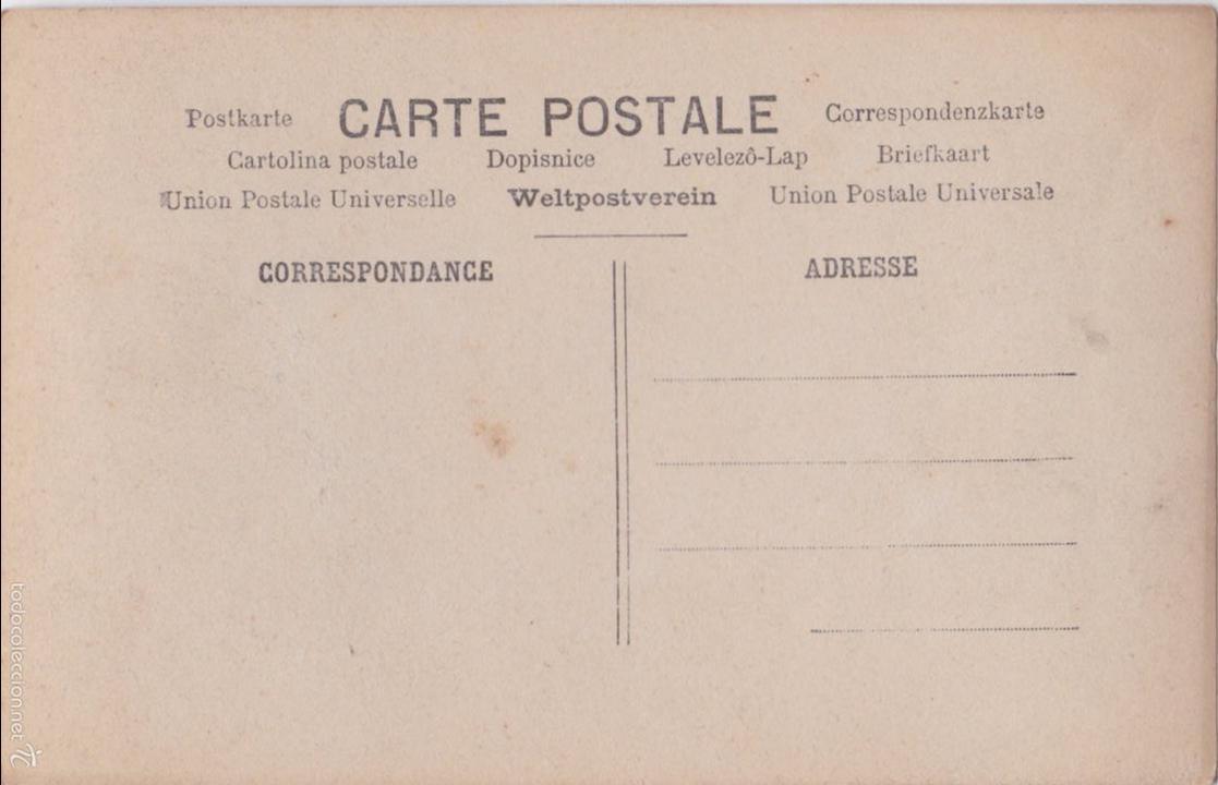 Postales: P- 4793. SERIE DE 4 POSTALES. UNE PARTIE DE CAMPAGNE. - Foto 7 - 55308737