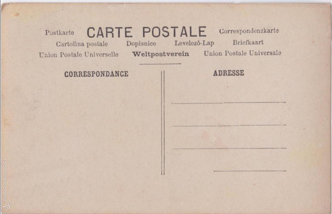 Postales: P- 4793. SERIE DE 4 POSTALES. UNE PARTIE DE CAMPAGNE. - Foto 8 - 55308737