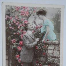 Postales: ANTIGUA POSTAL STEBBING PAREJA ROMANTICA AÑO 1909. Lote 56037069