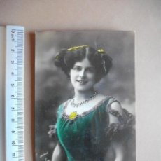 Postales: POSTAL COLOREADA,FLORENCE LTELLING 1909. Lote 56042754