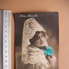 Postales: POSTAL COLOREADA,EMMA TEXEIRA, 190..?. Lote 56043738