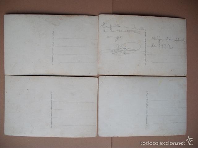 Postales: ANTIGUA POSTAL, PAREJA ENAMORADOS, - 4 POSTALES FRANCESAS - Foto 6 - 56543277