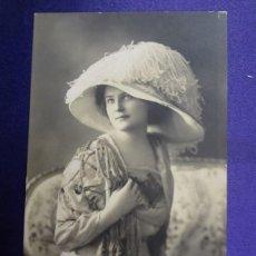 Postales: ANTIGUA POSTAL. MUJER. CIRCULADA. 1911. Lote 57101543