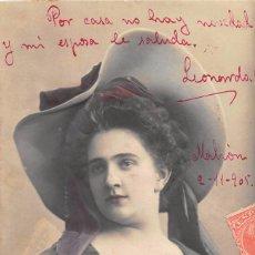 Postales: POSTAL ROMANTICA (TROQUELADA). Lote 57356502