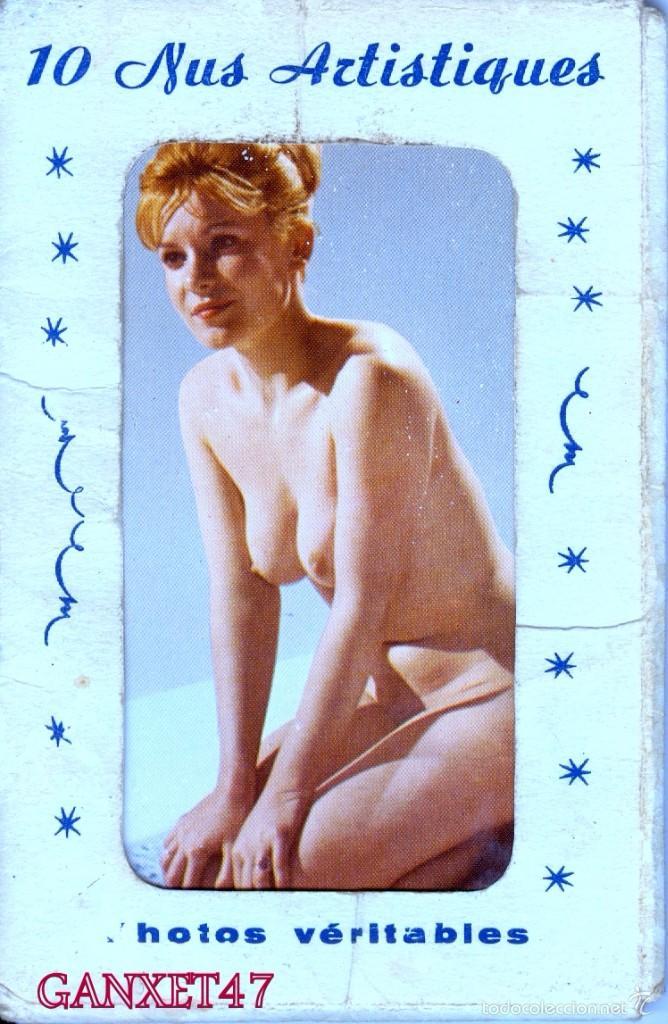 NUS ARTISTIQUES, 10 DESNUDOS ARTISTICOS FEMENINOS, EDITADAS EN PARIS (Postales - Postales Temáticas - Galantes y Mujeres)