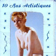 Postales: NUS ARTISTIQUES, 10 DESNUDOS ARTISTICOS FEMENINOS, EDITADAS EN PARIS. Lote 58233115