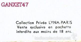 Postales: NUS ARTISTIQUES, 10 DESNUDOS ARTISTICOS FEMENINOS, EDITADAS EN PARIS - Foto 4 - 58233115