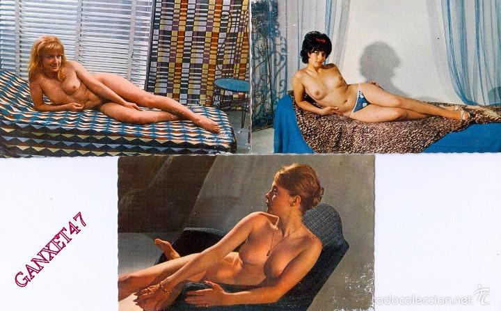 Postales: NUS ARTISTIQUES, 10 DESNUDOS ARTISTICOS FEMENINOS, EDITADAS EN PARIS - Foto 5 - 58233115