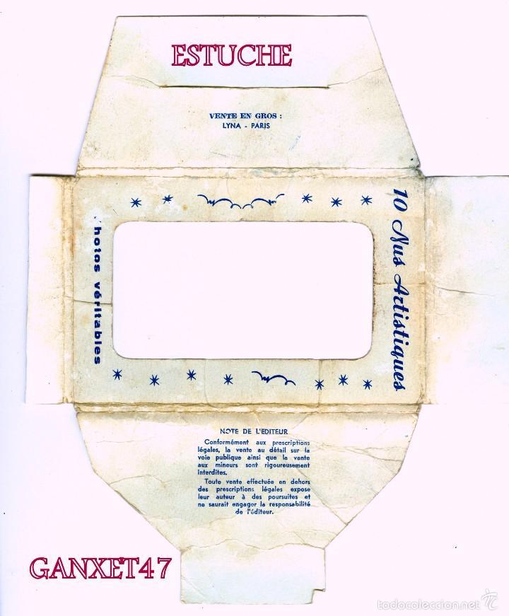 Postales: NUS ARTISTIQUES, 10 DESNUDOS ARTISTICOS FEMENINOS, EDITADAS EN PARIS - Foto 6 - 58233115