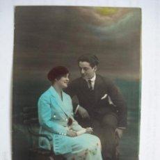 Postales: POSTAL ROMANTICA COLOREADA. ESCRITA.. Lote 58581636