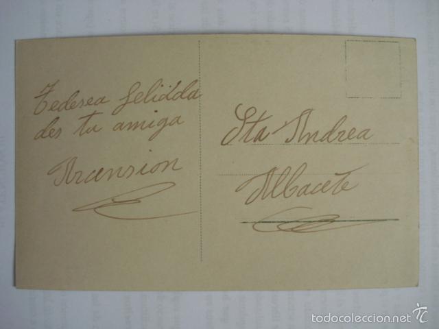 Postales: POSTAL ROMANTICA COLOREADA ESCRITA. - Foto 2 - 58595533