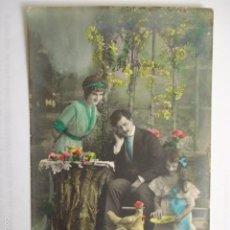 Postales: POSTAL ROMANTICA DE FAMILIA. ED. SOL 621. ESCRITA.. Lote 58666177